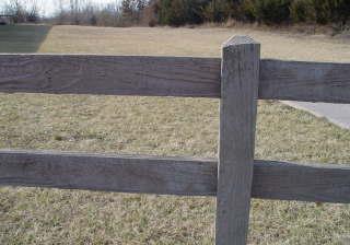 Perlitecrete example Fence